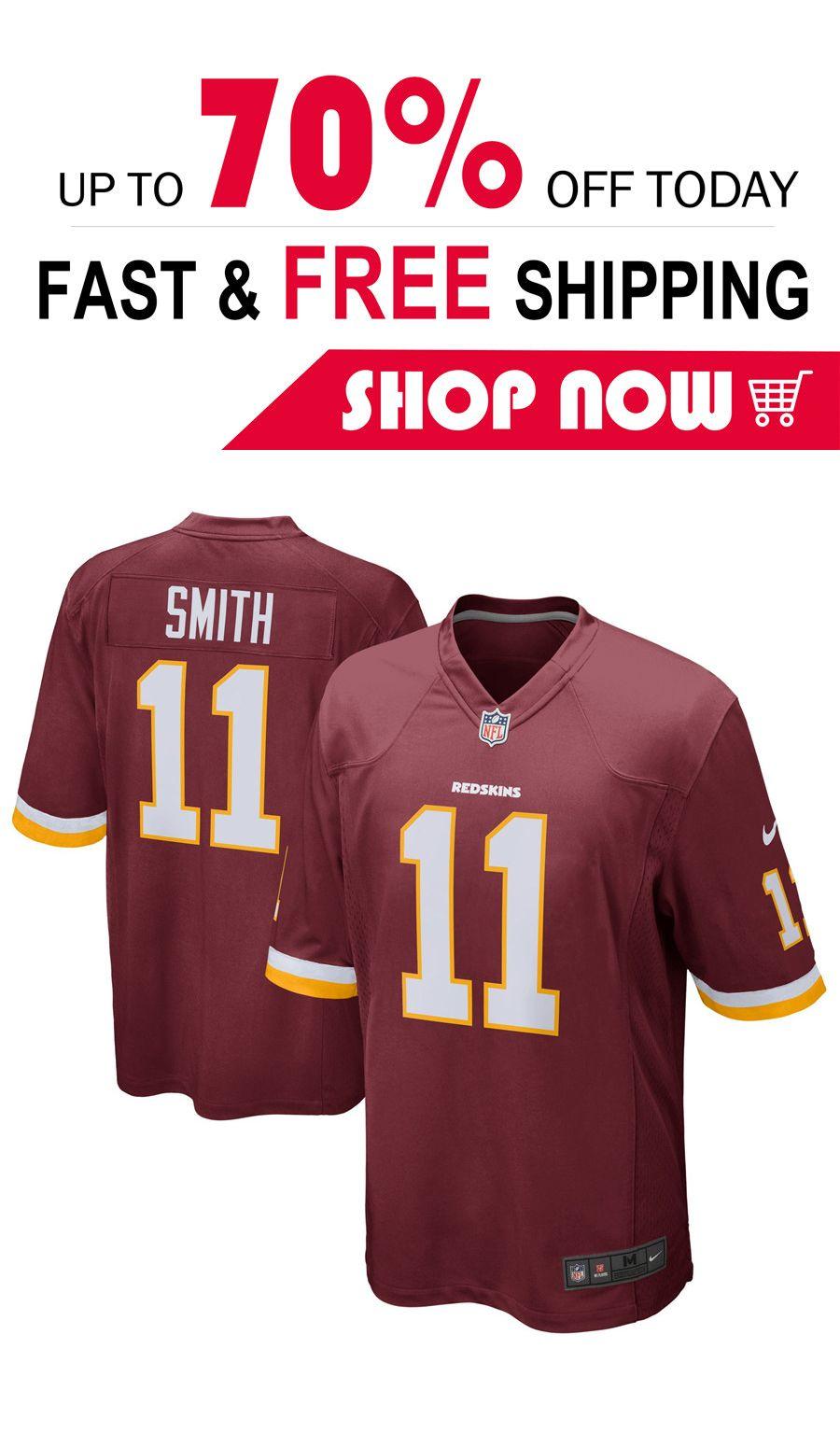 wholesale dealer 535e1 3fad2 2019 的mens Alex Smith Washington Redskins football jersey ...