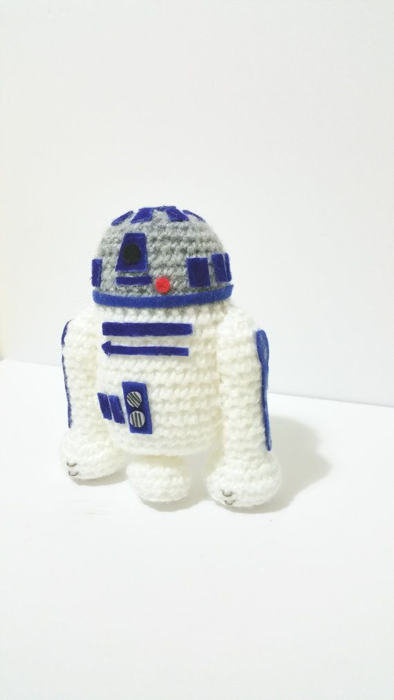 R2D2 STAR WARS (4x4 inches) droid bb 8 the force awakens r2d2 3cp-o ...