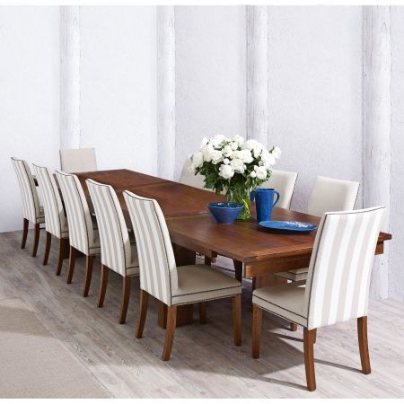 Matilba triple butterfly extension dining table domayne online store
