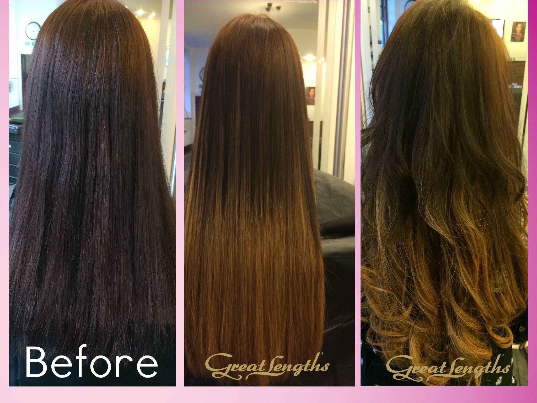 Great Lengths Hair Extensions 45cm Flowstrands Colour 4 Into 28