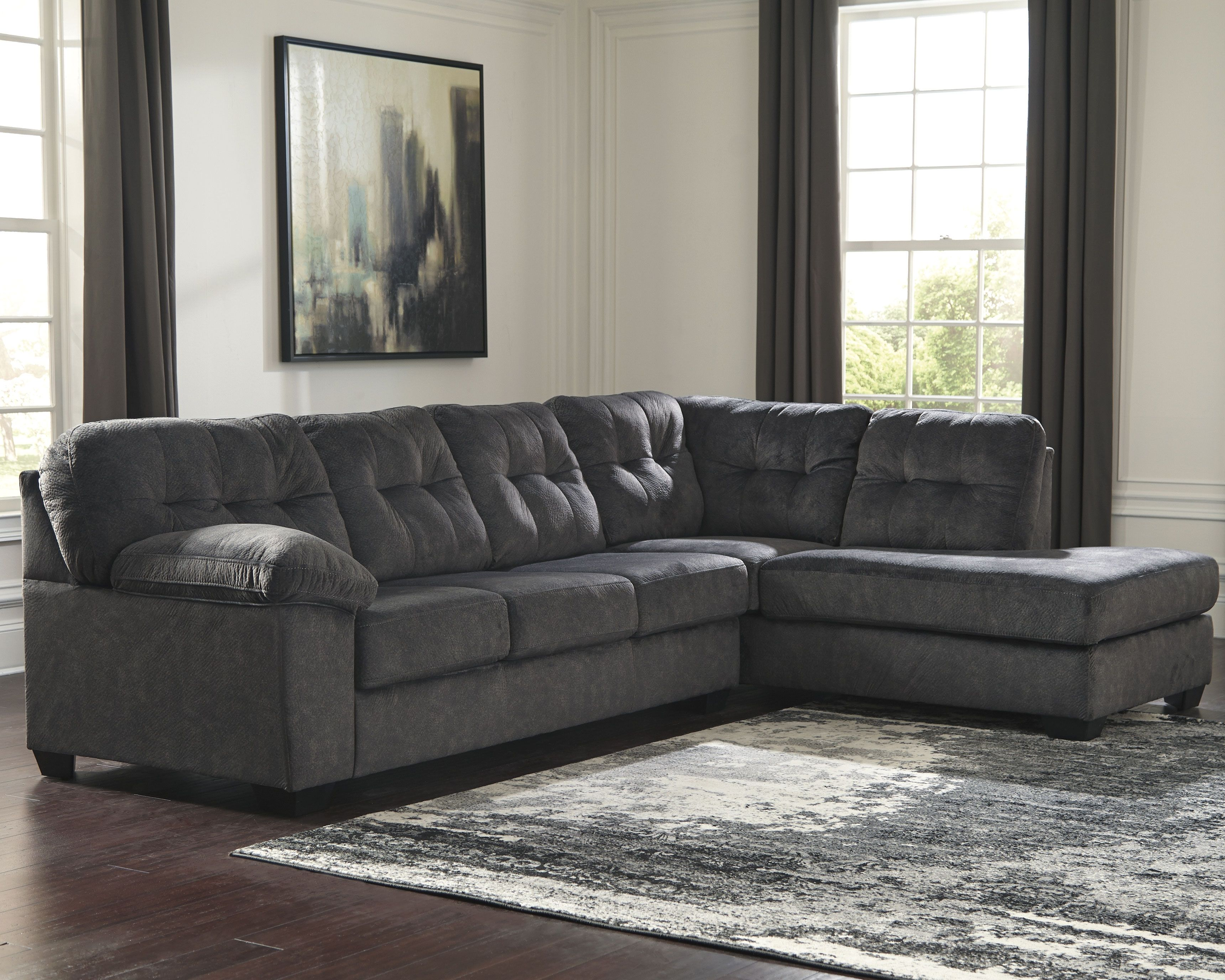 Marvelous Accrington 2 Piece Sectional With Chaise Products In 2019 Gmtry Best Dining Table And Chair Ideas Images Gmtryco