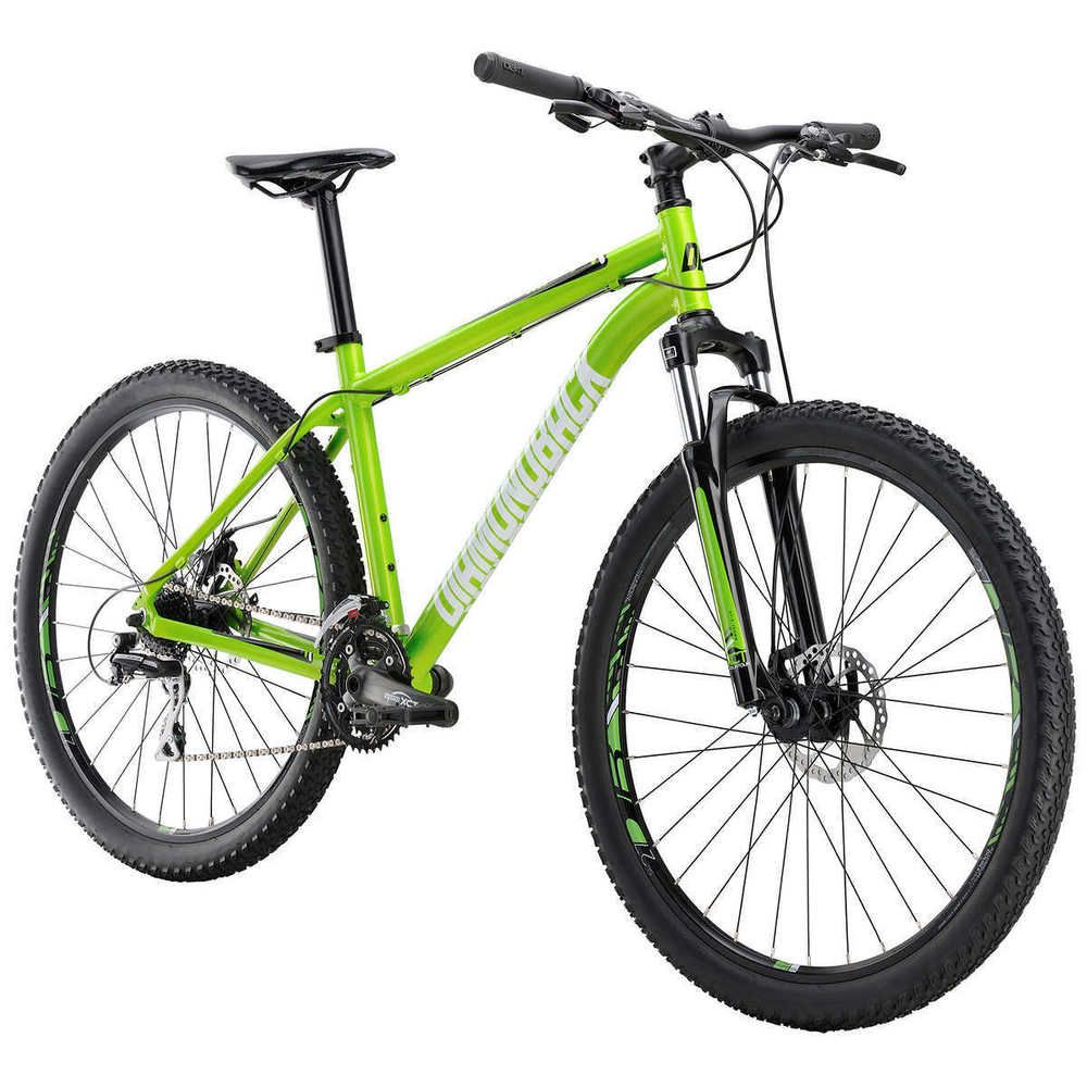 24 Speed Mountain Bike Aluminum Frame Big Knobby Tires 4 Step