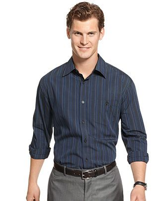 For another more casual look skip the tie and sports for Dress shirt for interview