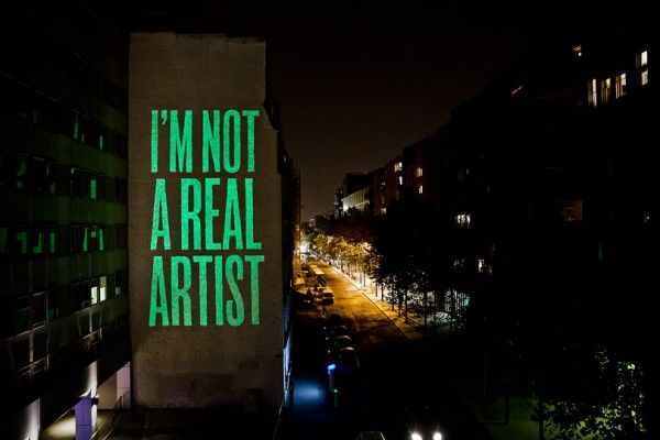 I'm Not a Real Artist by SpY