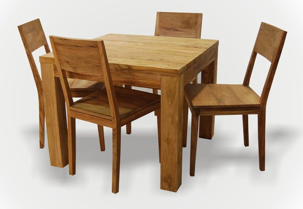 Teak Wood Dining Table Available For Small Family Info Casateak 03 80820341