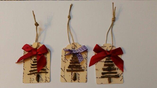 Easy Christmas Gift Tag