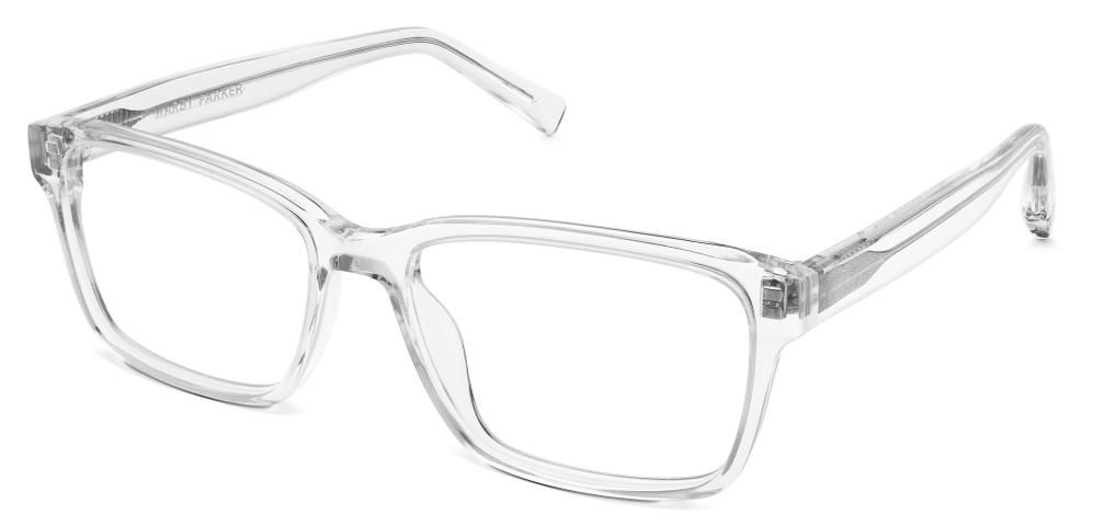 nash eyeglasses in crystal for men
