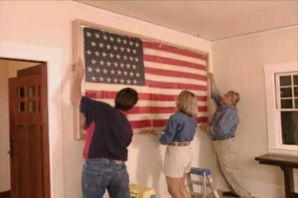 How To Build A Frame For Displaying Collectibles Flag Display Case Flag Display Framed American Flag
