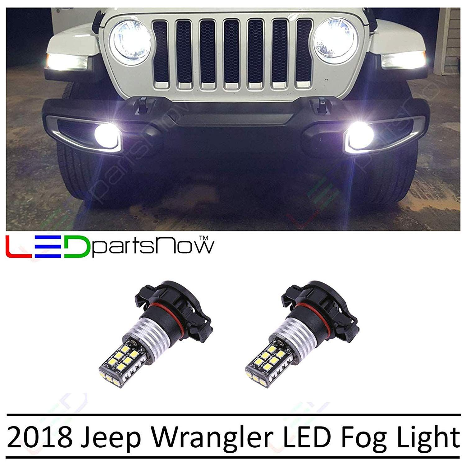 Amazon Com Ledpartsnow 2018 Jeep Wrangler Jl 5000k 5202 White Led