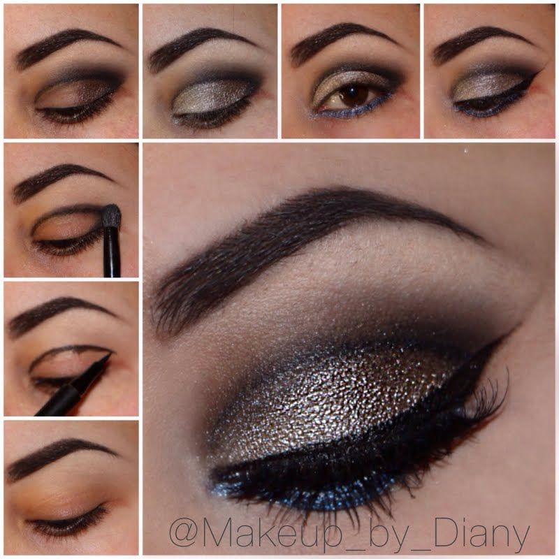 Sandy Lagoon Cut Crease by Diany M. Click the pic to see the how-to. #beauty #makeuppictorial #YouCanDoThisBeauty @Laura Geller Beauty