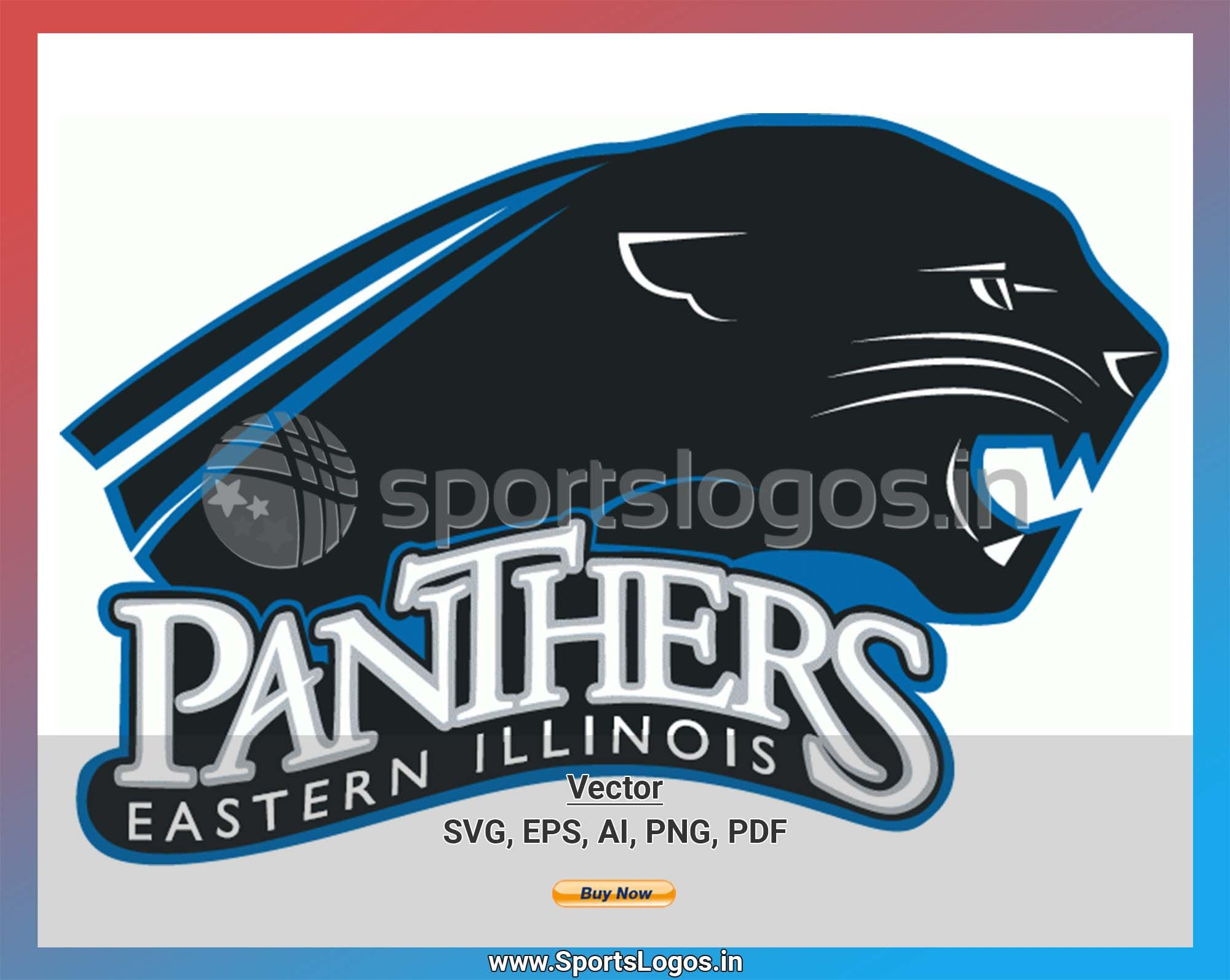 Eastern Illinois Panthers College Sports Vector SVG Logo