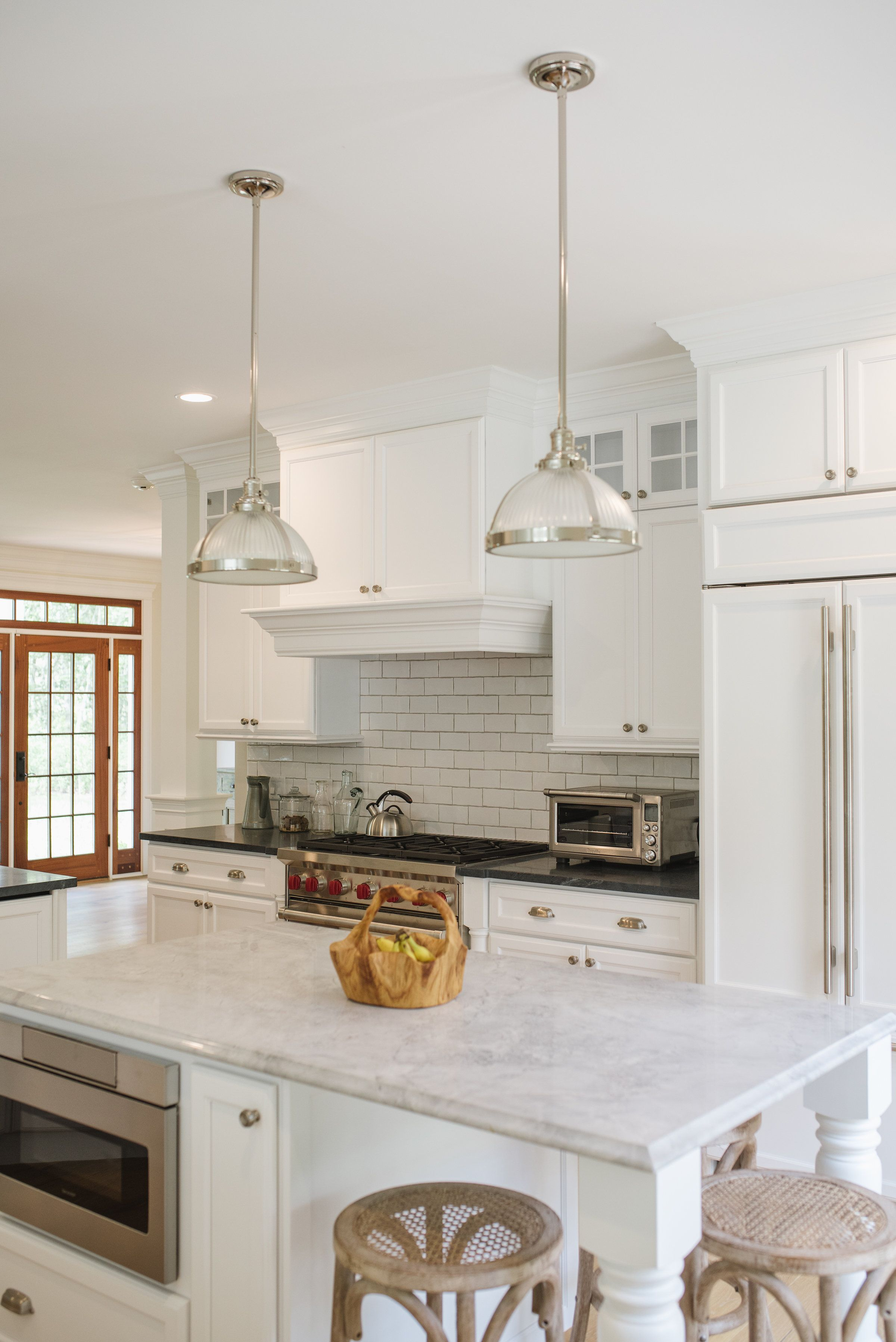 Eastman St. Woodworks Kitchen in Martha\'s Vineyard. Photographed by ...