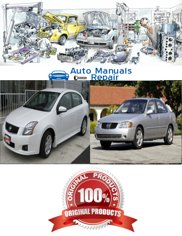 Nissan Sentra 2006 2007 2008 2009 Services Repair Manual Repair Manuals Nissan Trucks Nissan Sentra