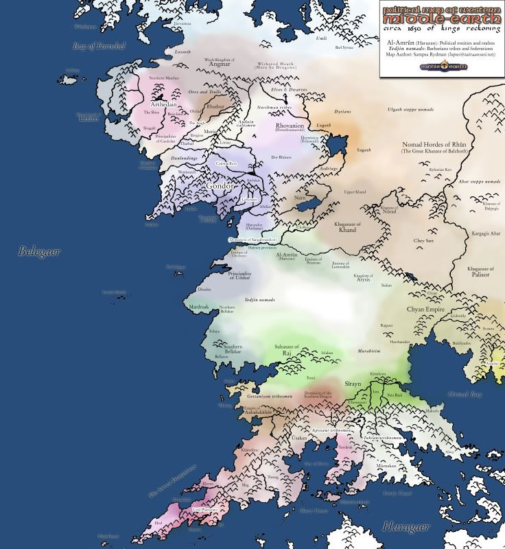 Political map | Maps of Middle earth | Pinterest | Middle earth