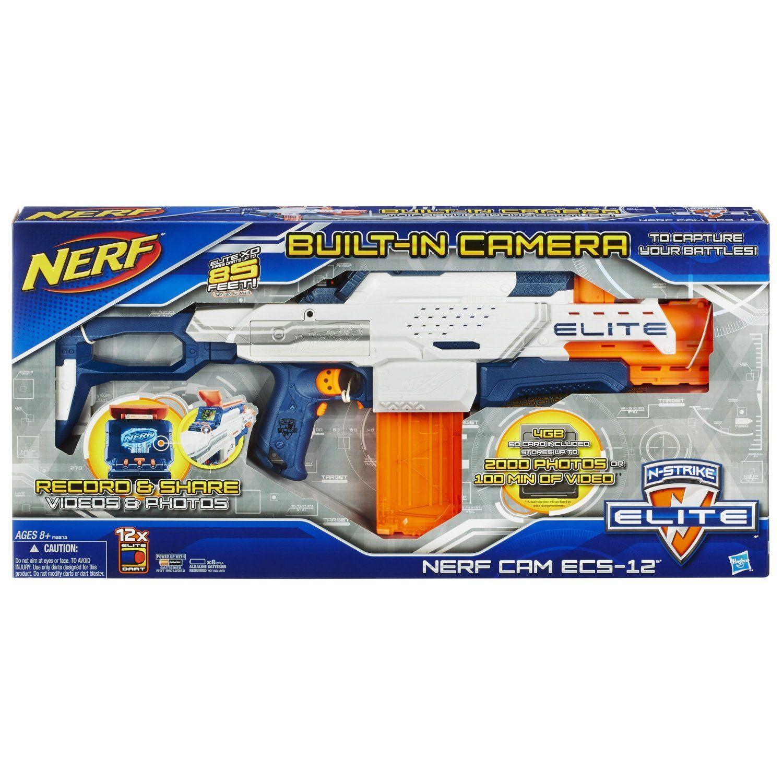 Amazon Nerf N Strike Elite Nerf Cam ECS 12 Blaster
