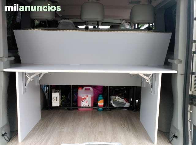 Se hacen camas para para furgonetas berlingo partner caddy tourneo trafic vivaro volkswagen t5 - Medidas interiores furgonetas ...