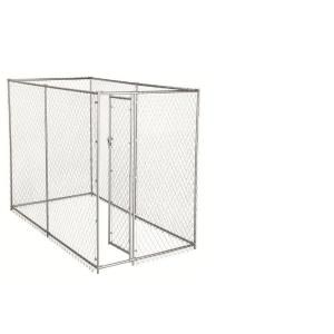 American Kennel Club 6 Ft X 10 Ft X 6 Ft Chain Link Kennel Kit 308595akc Dog Kennel Cover Plastic Dog House Outdoor Dog