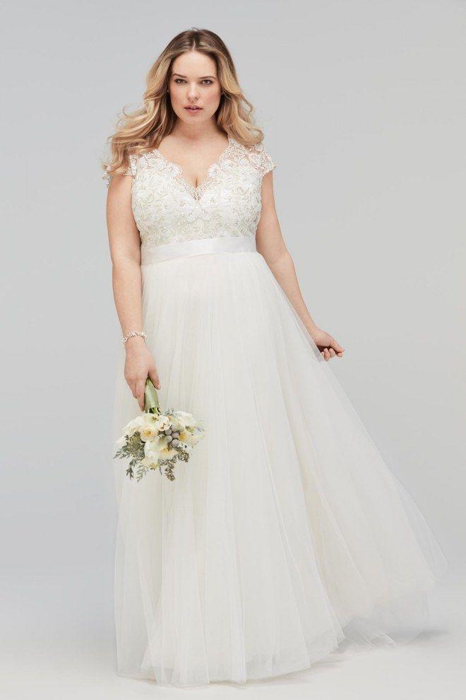 Brautkleider für vollbusige Frauen
