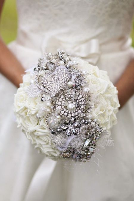 Jeweled Bridal Bouquets Wedding Bouquets Wedding Trends