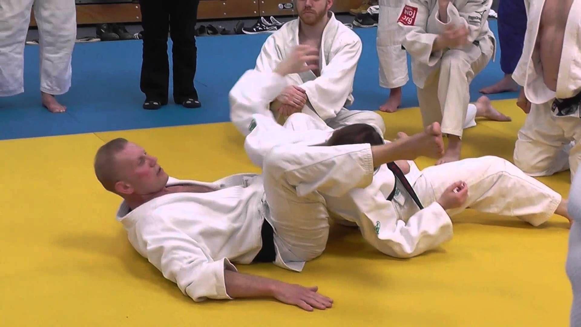 Judo jujigatame part 2 steve gawthorpe series 2 judo