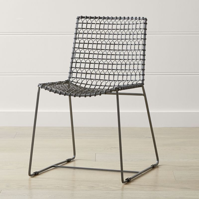 Tig Metal Dining Chair Reviews Crate And Barrel Metal Dining Chairs Metal Dining Room Chairs Dining Chairs