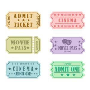 Cinema Ticket Cuttable Design Cinema Ticket Ticket Design Cinema