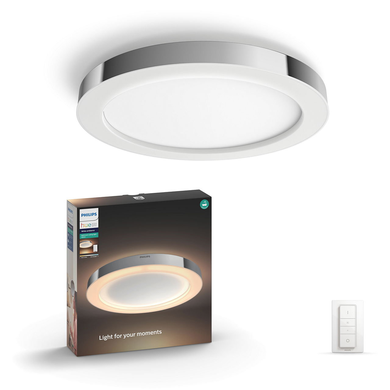 Philips Adore Hue Ceiling Lamp Chrome In 2020 Ceiling Lamp Led Globe Lights Hue