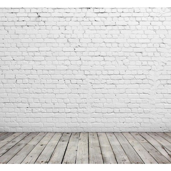 White Brick Wall And Wood Floor Liked On Polyvore Featuring Backgrounds Floor Rooms Home Phrase Qu White Brick White Brick Walls Fashion Trend Forecast