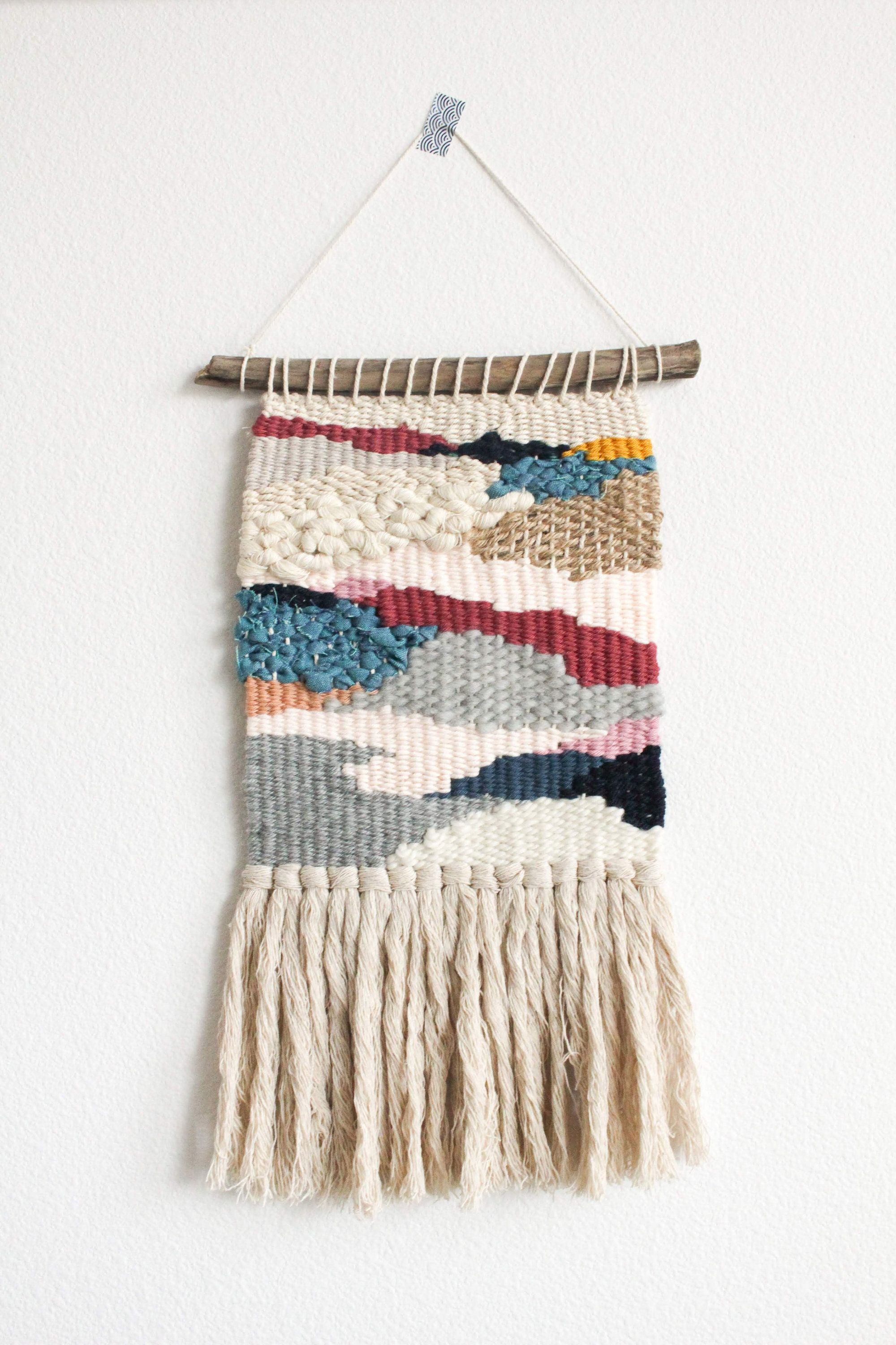 Handwoven Wall Hanging  Tapestry Weaving