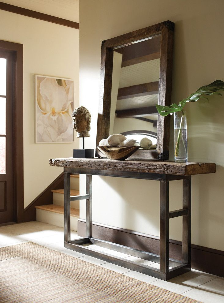 sofa pin foyer console inch entryway by hallway extra table with shelf rustic narrow