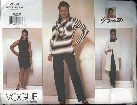 OOP Vogue 2658 B Smith Womens Wardrobe Jacket Dress by sandritocat