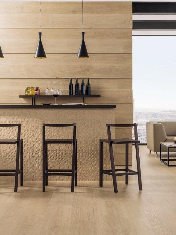houtlook tegels voor in de woonkamer, badkamer of toilet; lingen