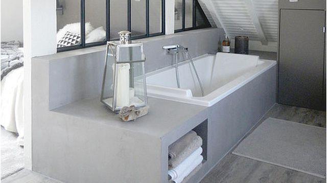 Salle De Bain Darchitecte Exemples En Photos Refaire - Implantation salle de bain
