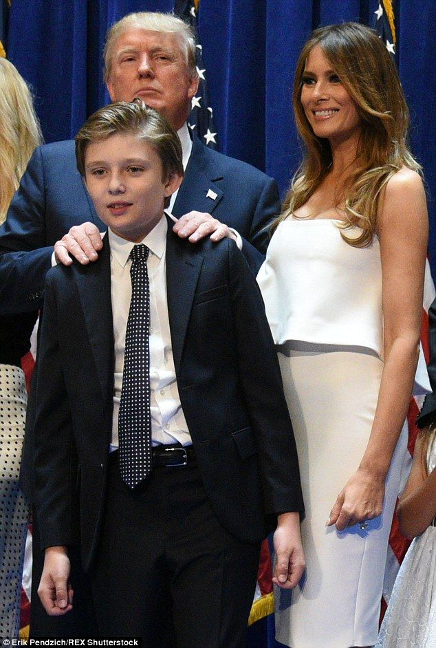 Dad For President Donald Trump S 5 Kids Line Up At 2016