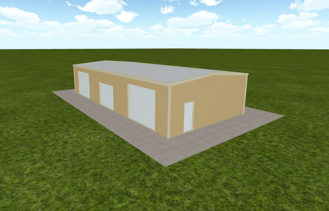 Prefab Metal Building Company   30x60 metal building kit