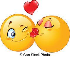 Pin by florice on eee mojiii emoji love emoji symbols naughty emoji - Smiley bisous iphone ...