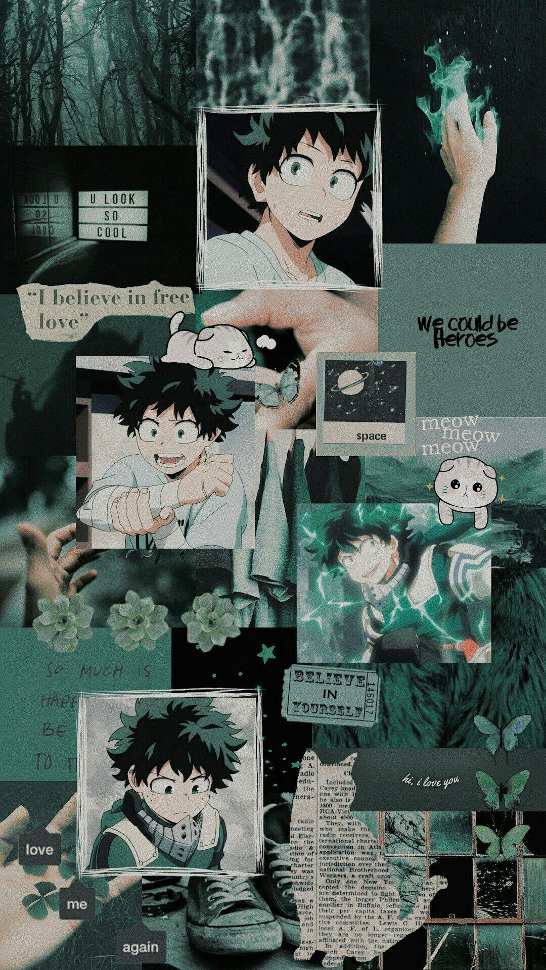 Izuku Midoriya Hero wallpaper, Cute anime wallpaper