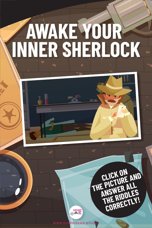 Awake Your Inner Scherlock Answer All The Riddles Correctly Detective Riddles Riddles Detective