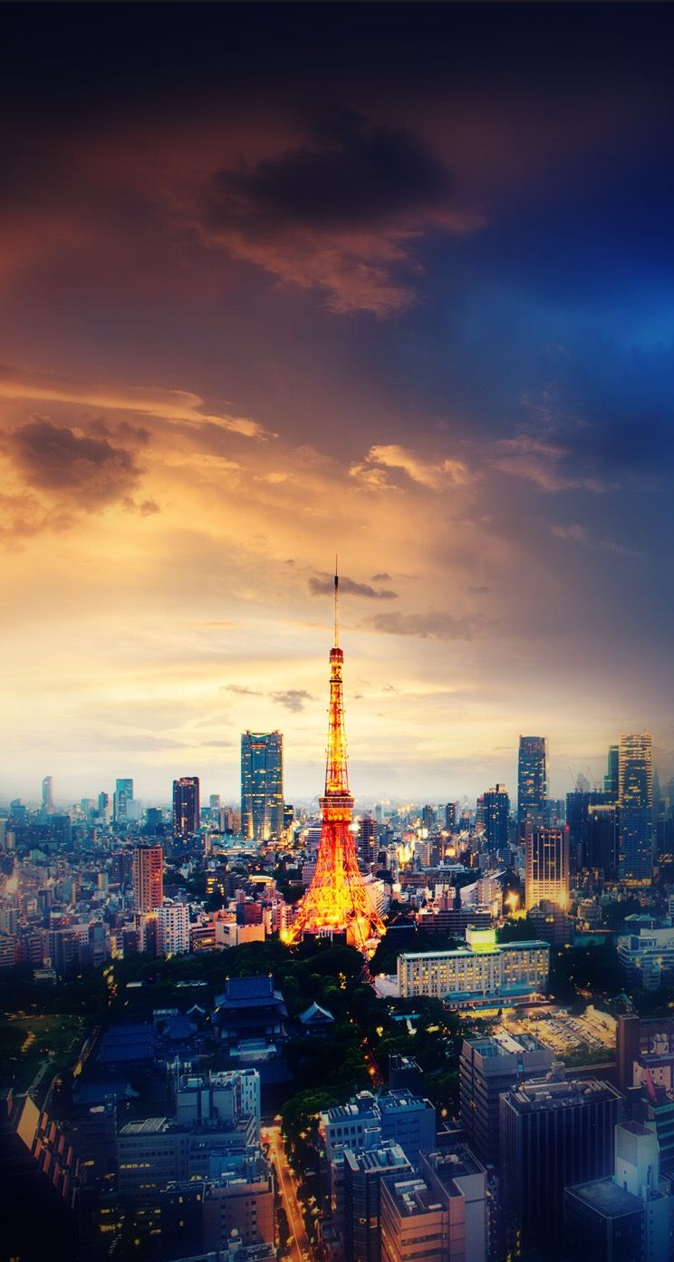 Pin by Lulu Contreras on Awesome Wallpapers Tokyo tower