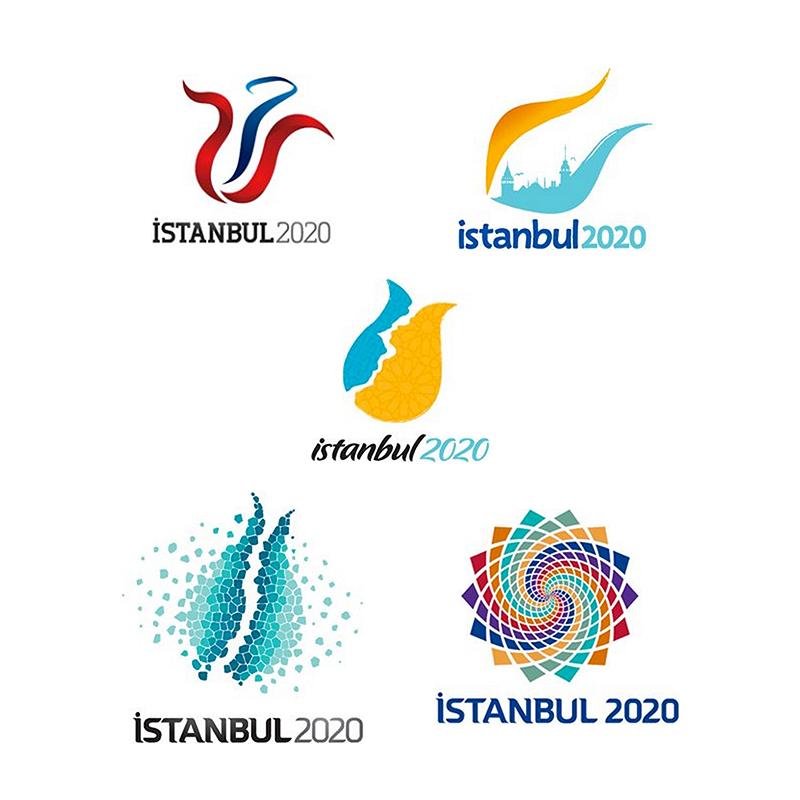 Logos Opcionales Ciudad De Istanbul Aplicante Para Juegos Olimpicos