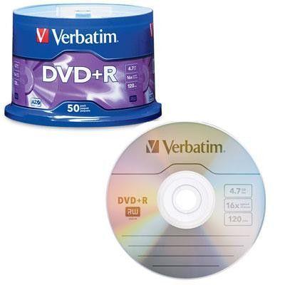 DVD R 4.7GB 16X 50 Pack