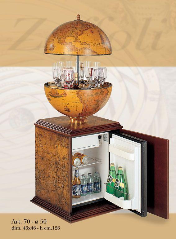 Globe Bar AVEC Réfrigérateur