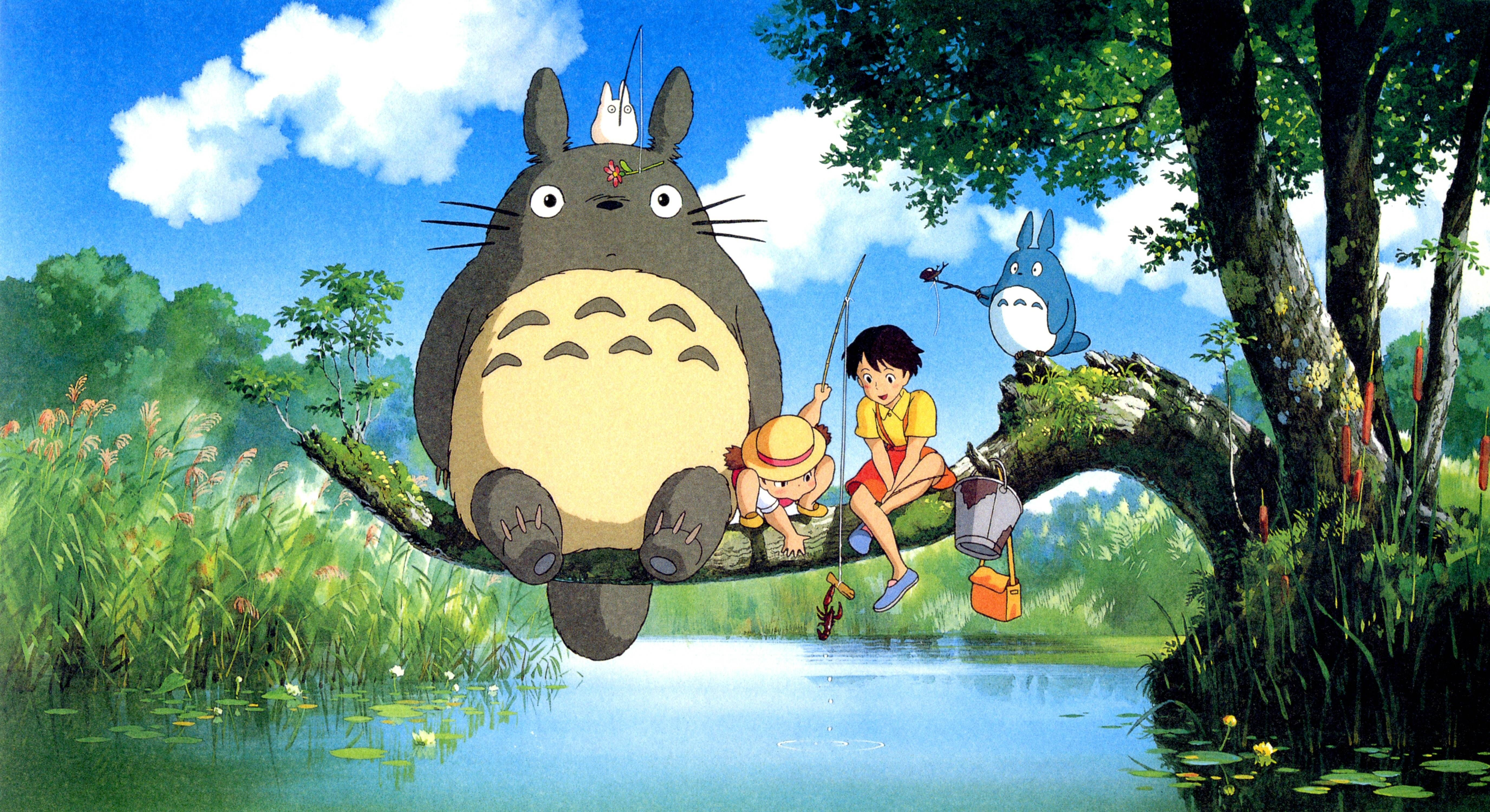 Mobile And Desktop Wallpaper Hd Totoro Art Ghibli Artwork Studio Ghibli