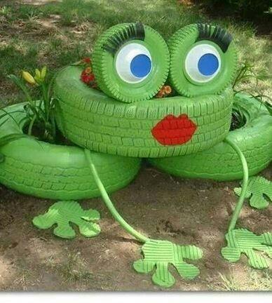 Rana o jardinera jardineria pinterest jardineras for Ranas decoracion jardin