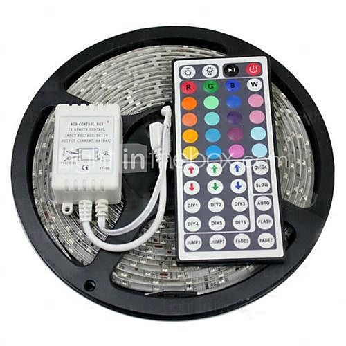 5m Flexible Led Strip Lights Light Sets Rgb Tiktok Lights 300 Leds 5050 Smd 10mm Rgb Tiktok Lights Waterproof Cuttable Linkable 12 V 1 Set Ip65 Self Adhesive Led Strip Lighting Rgb