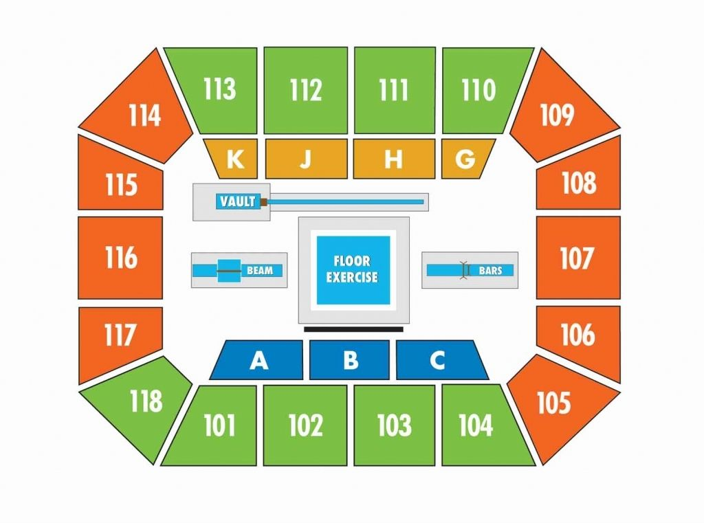 Auburn arena seating chart