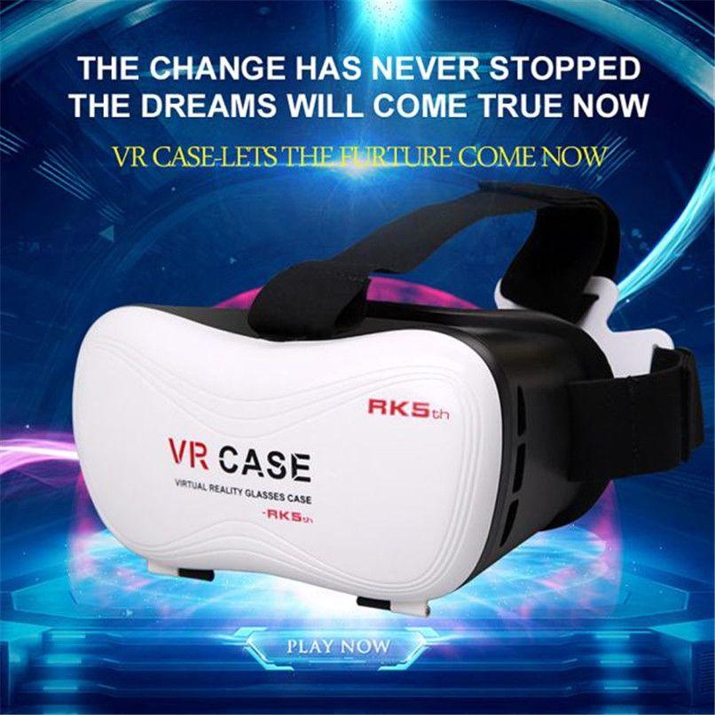 High Quality Fashion New Google Cardboard VR BOX Virtual Reality 3D Glasses For Samsung Galaxy S7 Free Shipping NOM07