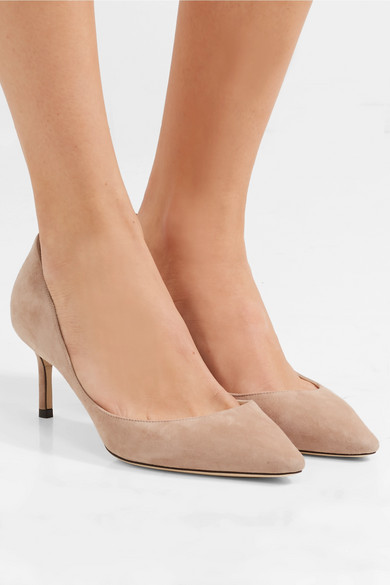 cde46c8f0 Jimmy Choo - Romy 60 suede pumps | Must-have | Fast fashion | Suede ...