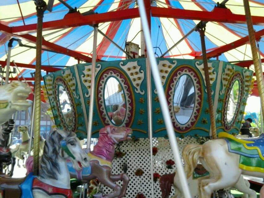 On the Greenway!!! Fair grounds, Carousel