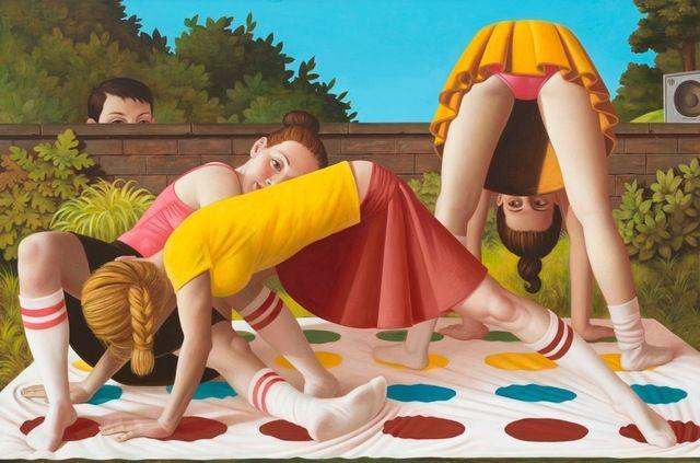 Falk Gernegroß, 'Twister,' 2014, Galerie Kleindienst